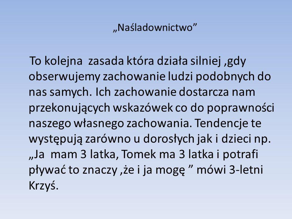 """""""Naśladownictwo"""