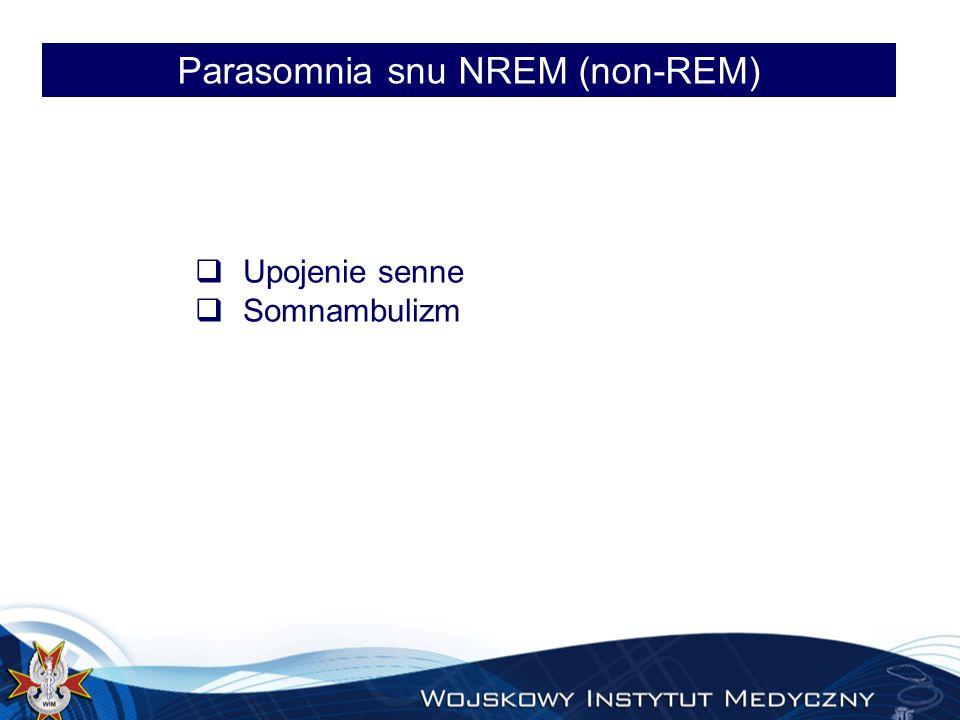 Parasomnia snu NREM (non-REM)
