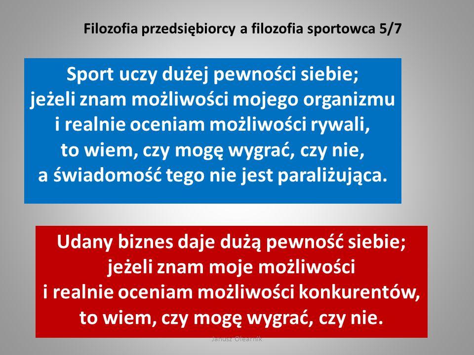 Filozofia przedsiębiorcy a filozofia sportowca 5/7