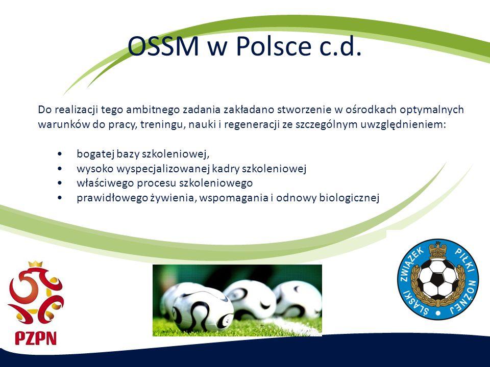 OSSM w Polsce c.d.