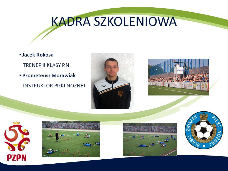 KADRA SZKOLENIOWA Jacek Rokosa TRENER II KLASY P.N.