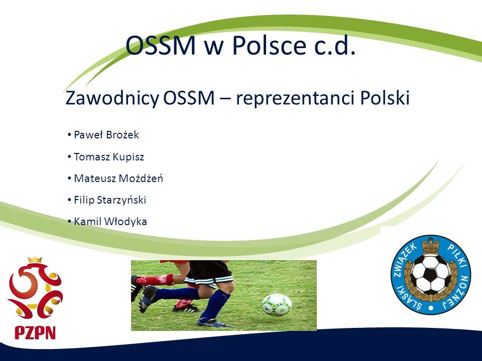 Zawodnicy OSSM – reprezentanci Polski