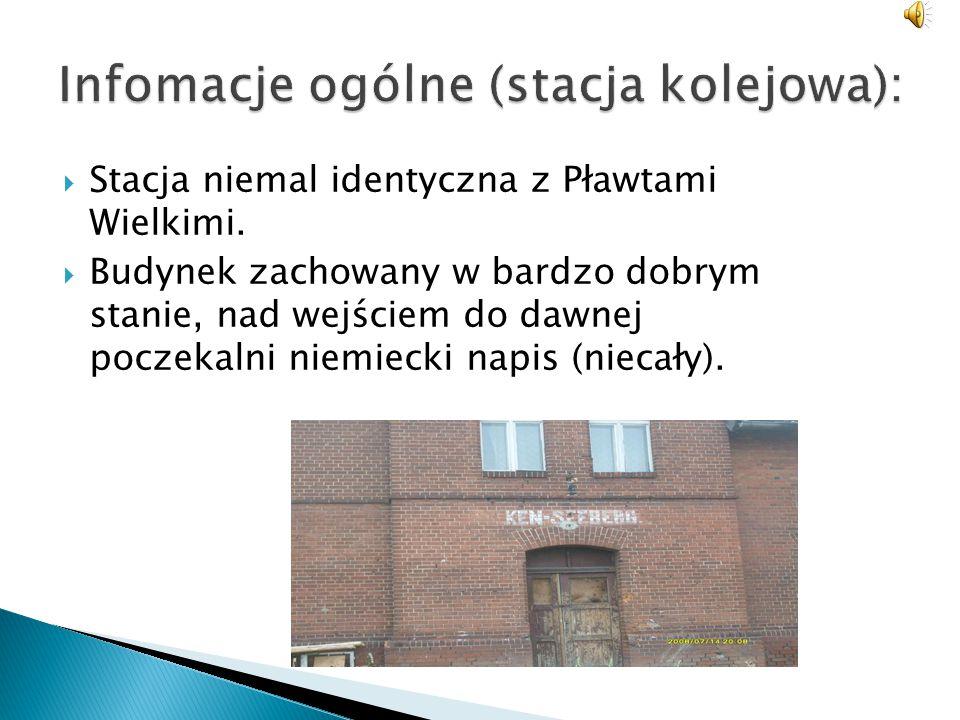 Infomacje ogólne (stacja kolejowa):
