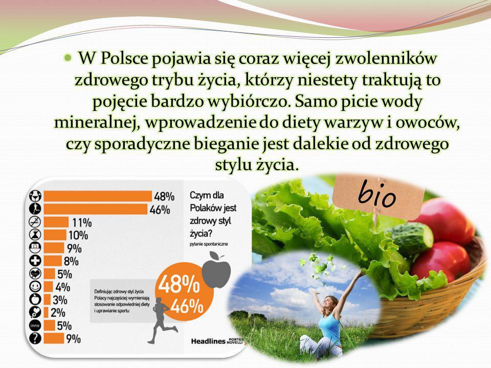 W Polsce pojawia się coraz więcej zwolenników zdrowego trybu życia, którzy niestety traktują to pojęcie bardzo wybiórczo.