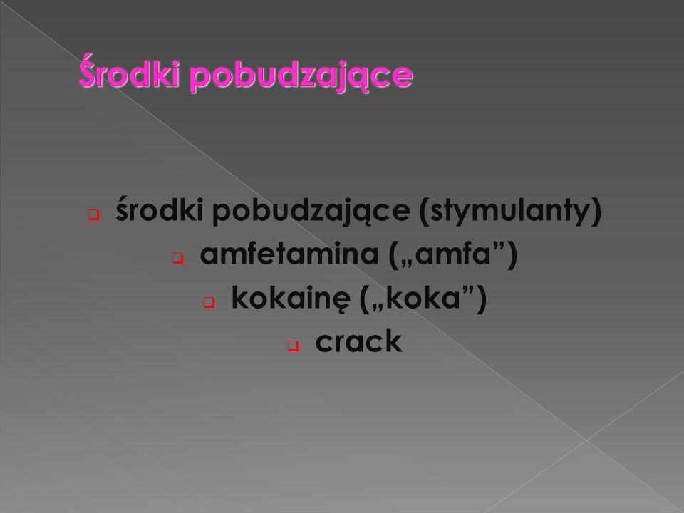 środki pobudzające (stymulanty)