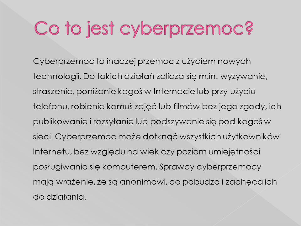 Co to jest cyberprzemoc