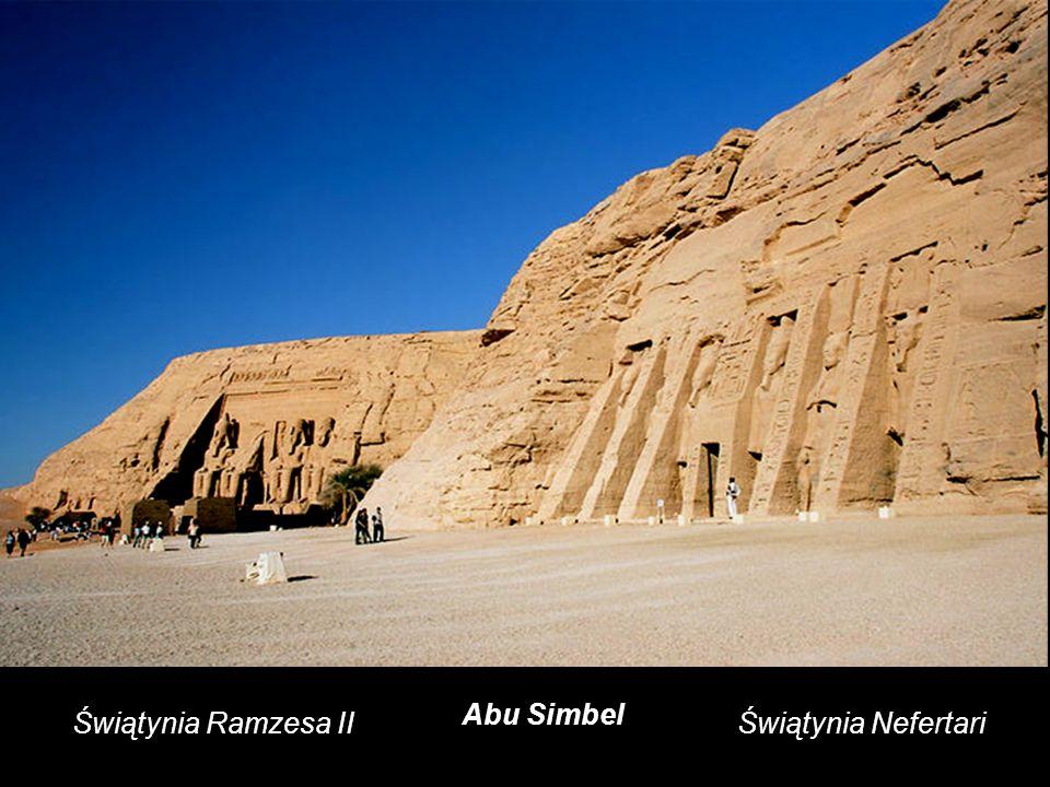 Abu Simbel Świątynia Ramzesa II Świątynia Nefertari