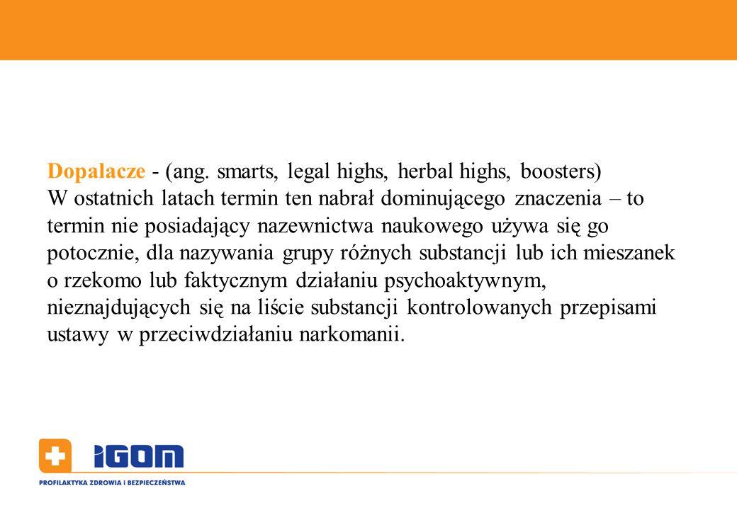Dopalacze - (ang.