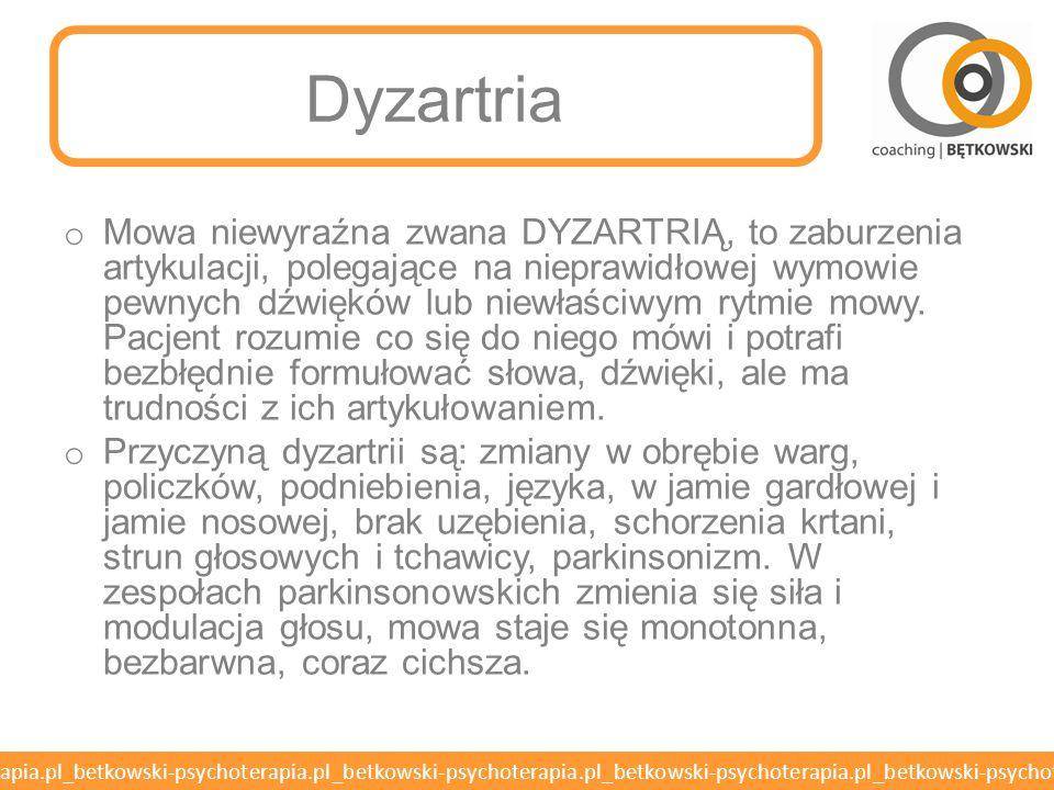 Dyzartria