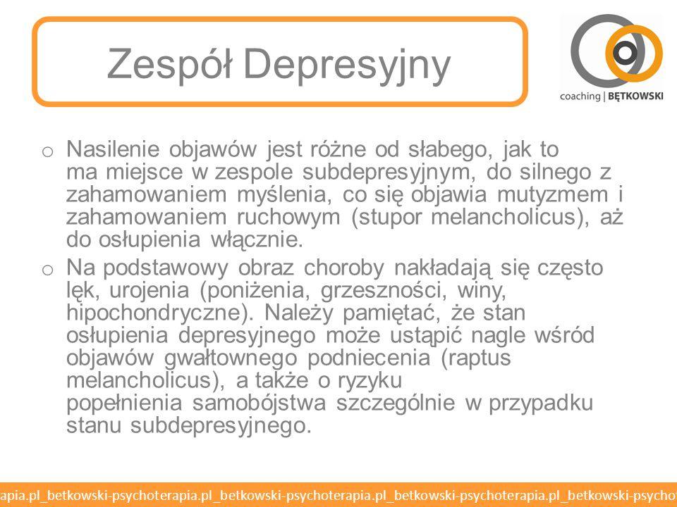 Zespół Depresyjny