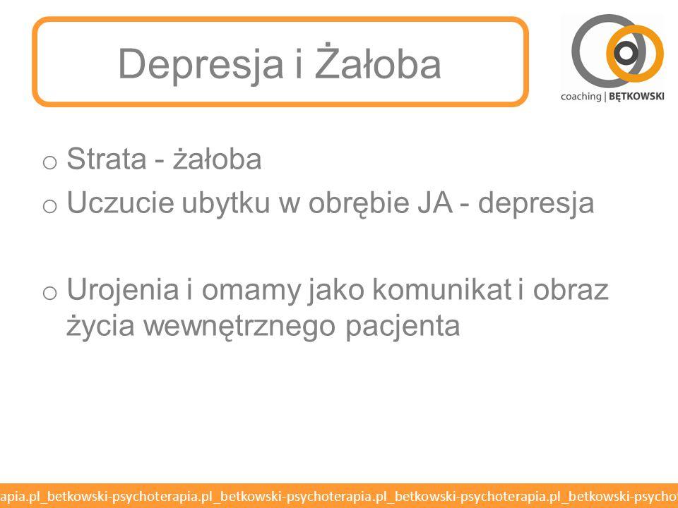 Depresja i Żałoba Strata - żałoba