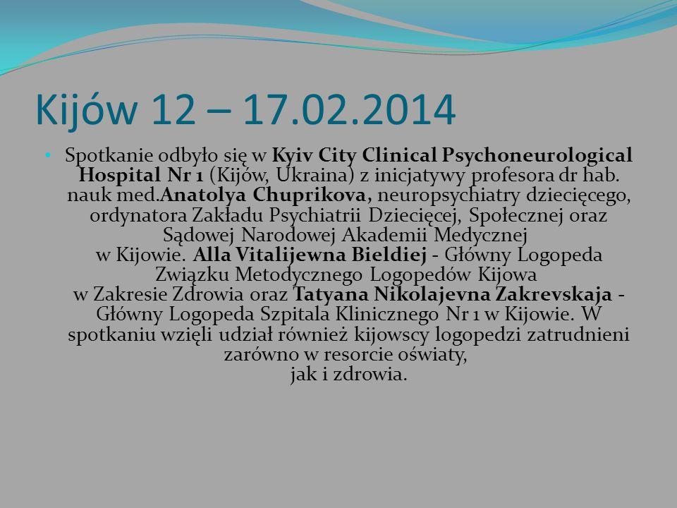 Kijów 12 – 17.02.2014