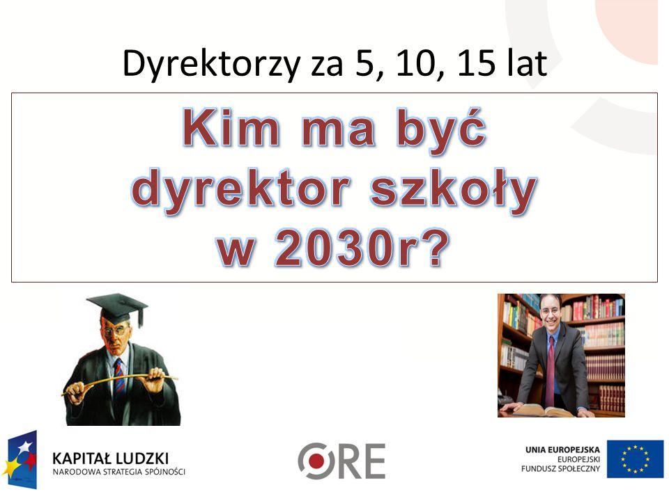 Kim ma być dyrektor szkoły w 2030r