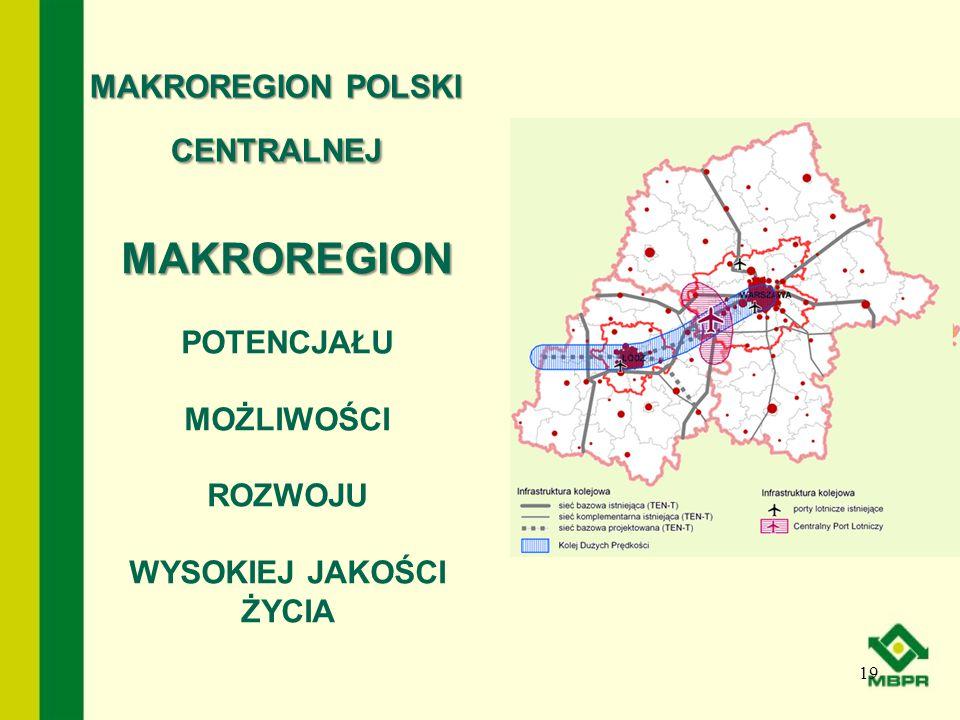 MAKROREGION POLSKI CENTRALNEJ