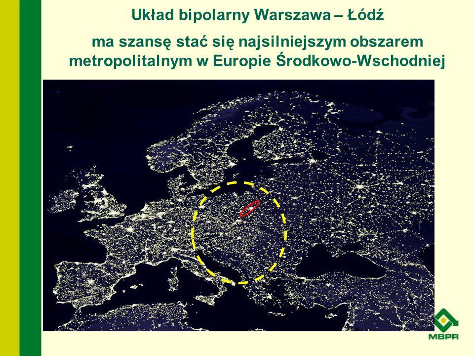 Układ bipolarny Warszawa – Łódź