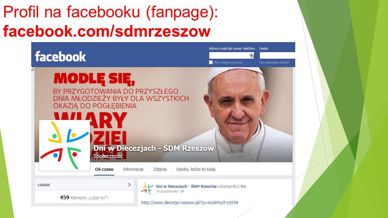 Profil na facebooku (fanpage): facebook.com/sdmrzeszow