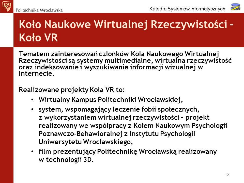 Koło Naukowe Wirtualnej Rzeczywistości – Koło VR