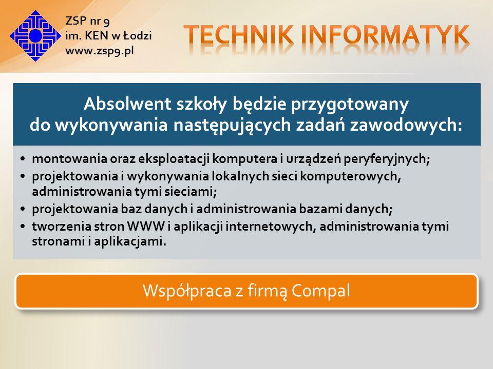 Współpraca z firmą Compal