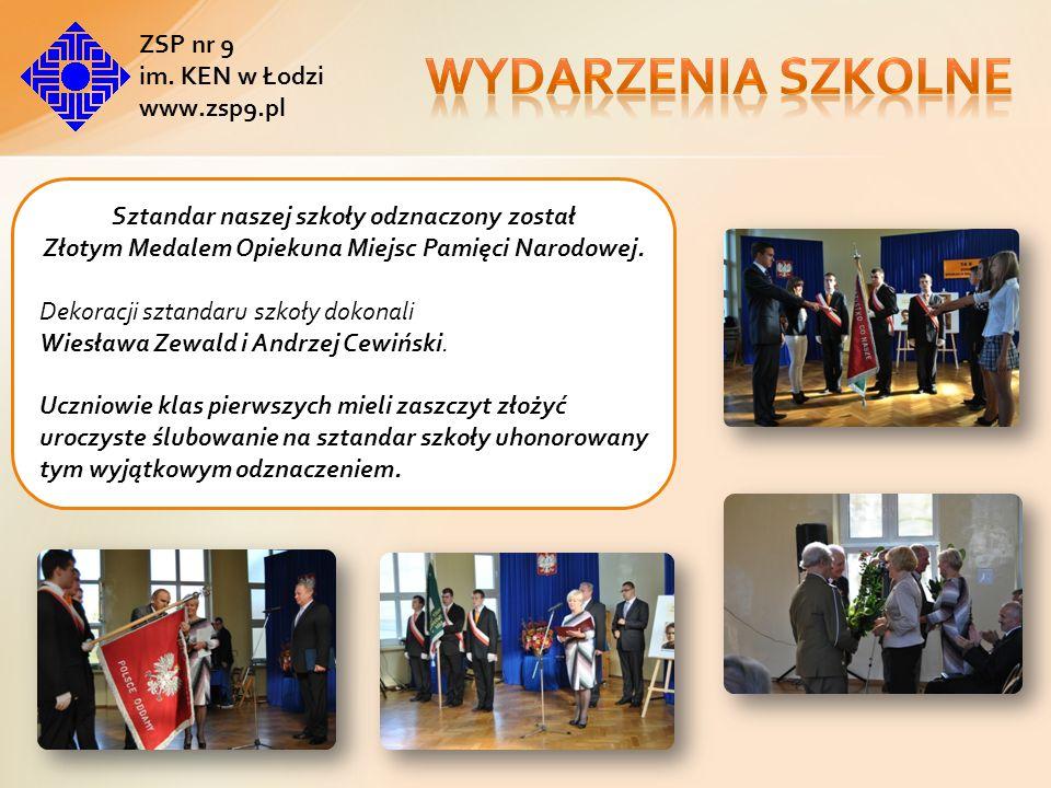 Wydarzenia szkolne ZSP nr 9 im. KEN w Łodzi www.zsp9.pl