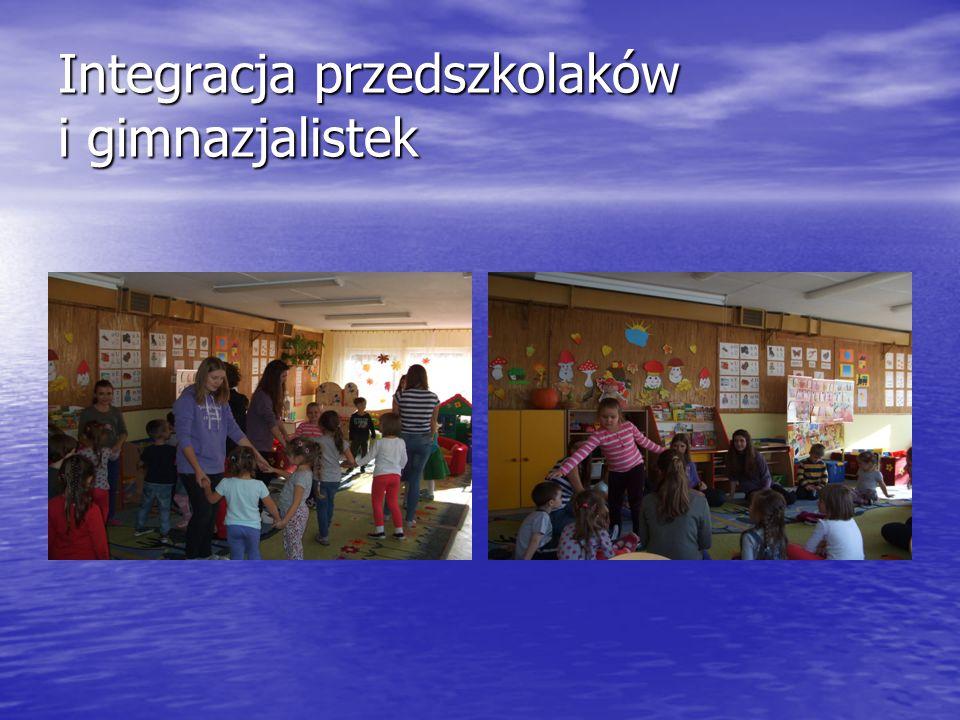 Integracja przedszkolaków i gimnazjalistek
