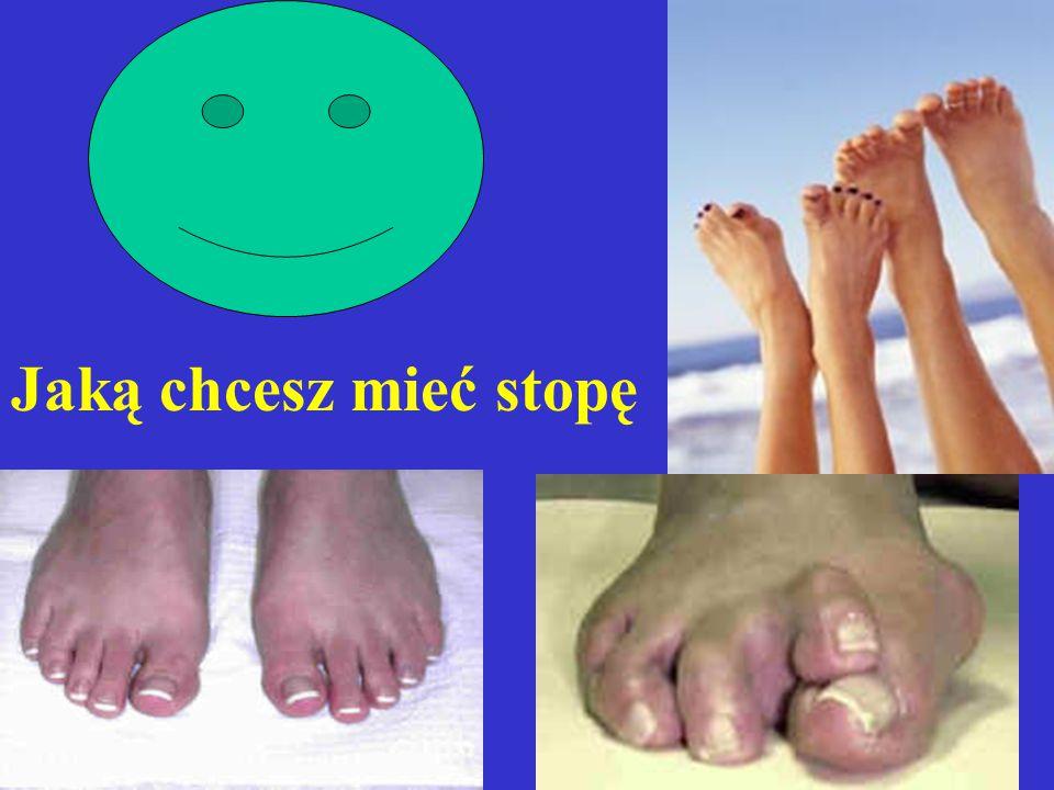 Jaką chcesz mieć stopę