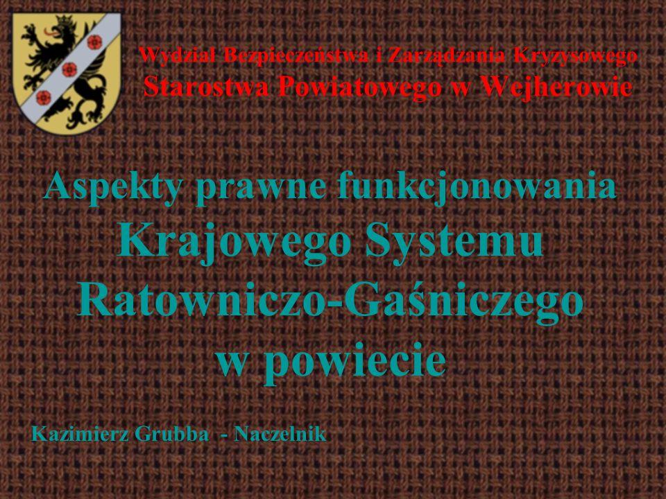 Wydział Bezpieczeństwa i Zarządzania Kryzysowego Starostwa Powiatowego w Wejherowie