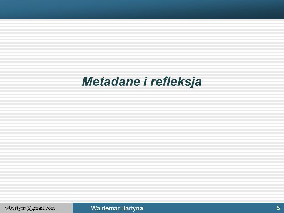 Metadane i refleksja