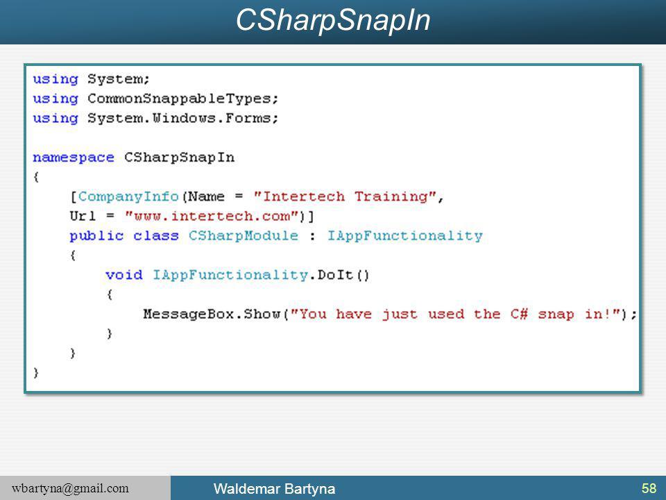 CSharpSnapIn