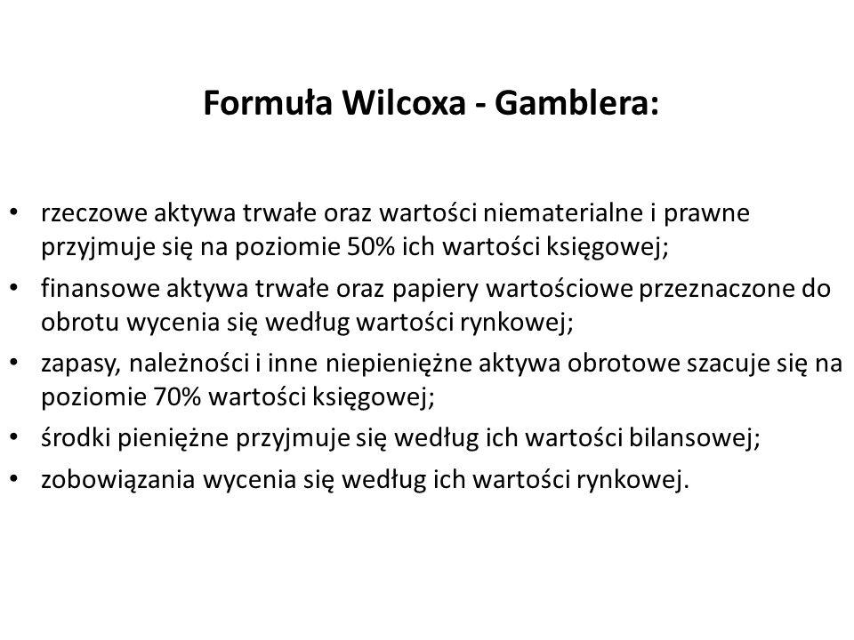 Formuła Wilcoxa - Gamblera: