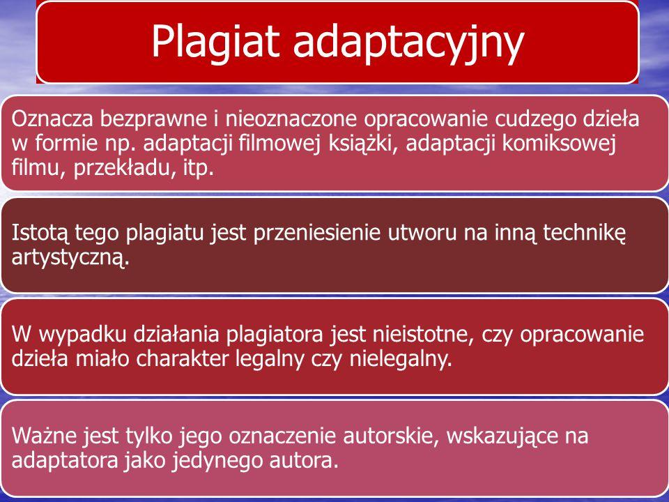 Plagiat adaptacyjny