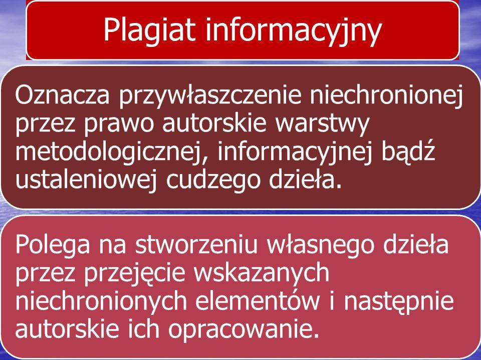 Plagiat informacyjny