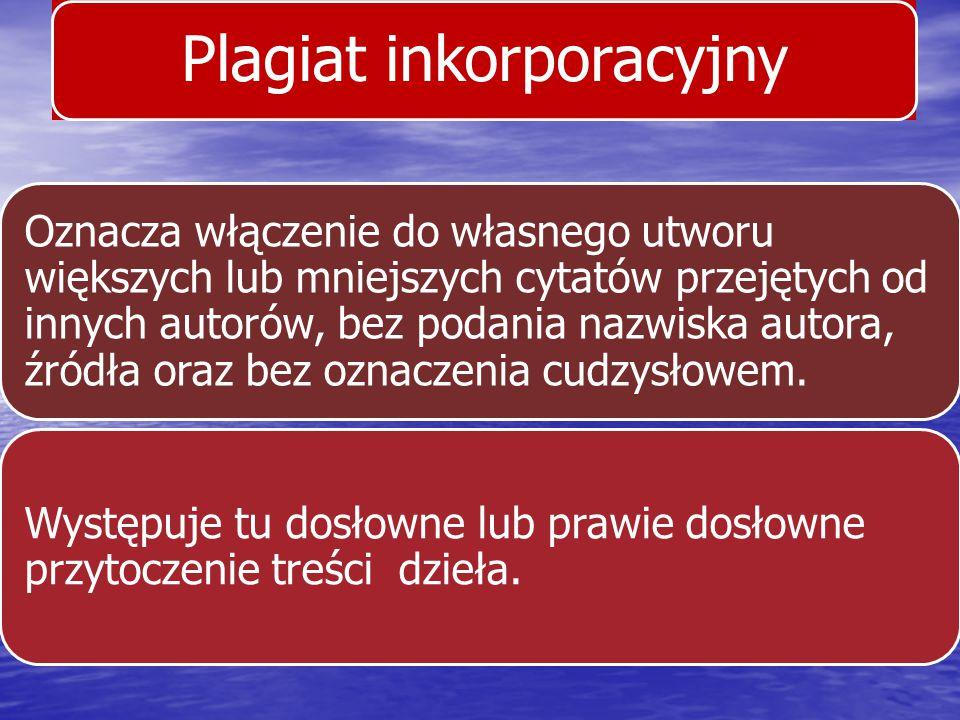 Plagiat inkorporacyjny