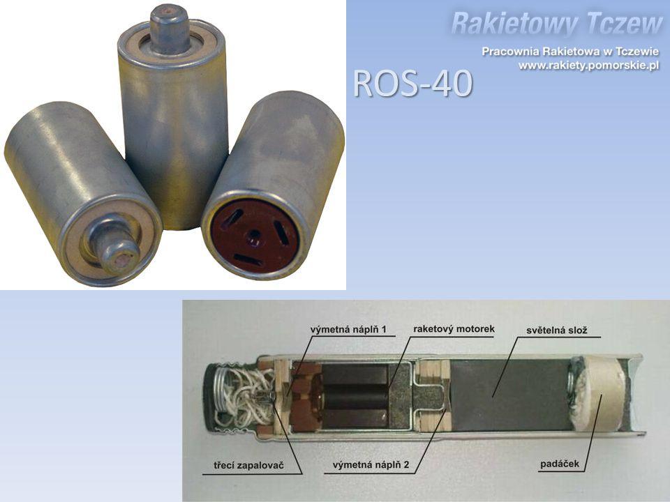 Silnik stałopędny ROS-40
