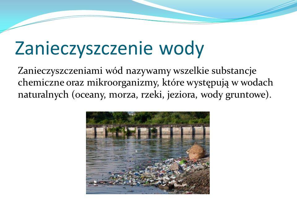 Zanieczyszczenie wody