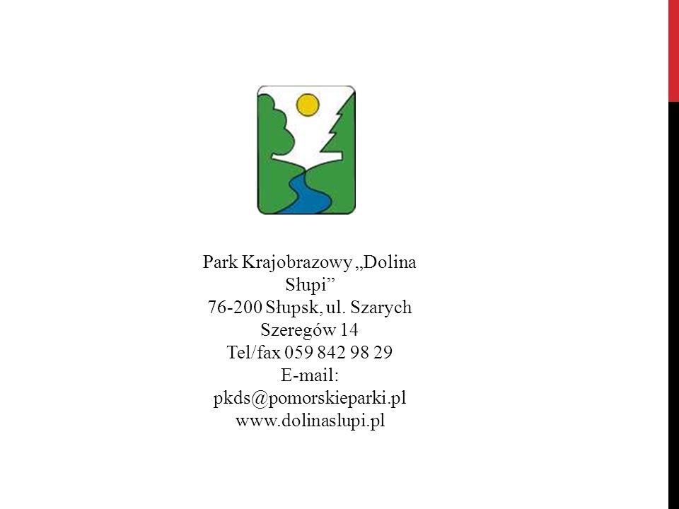 """Park Krajobrazowy """"Dolina Słupi"""