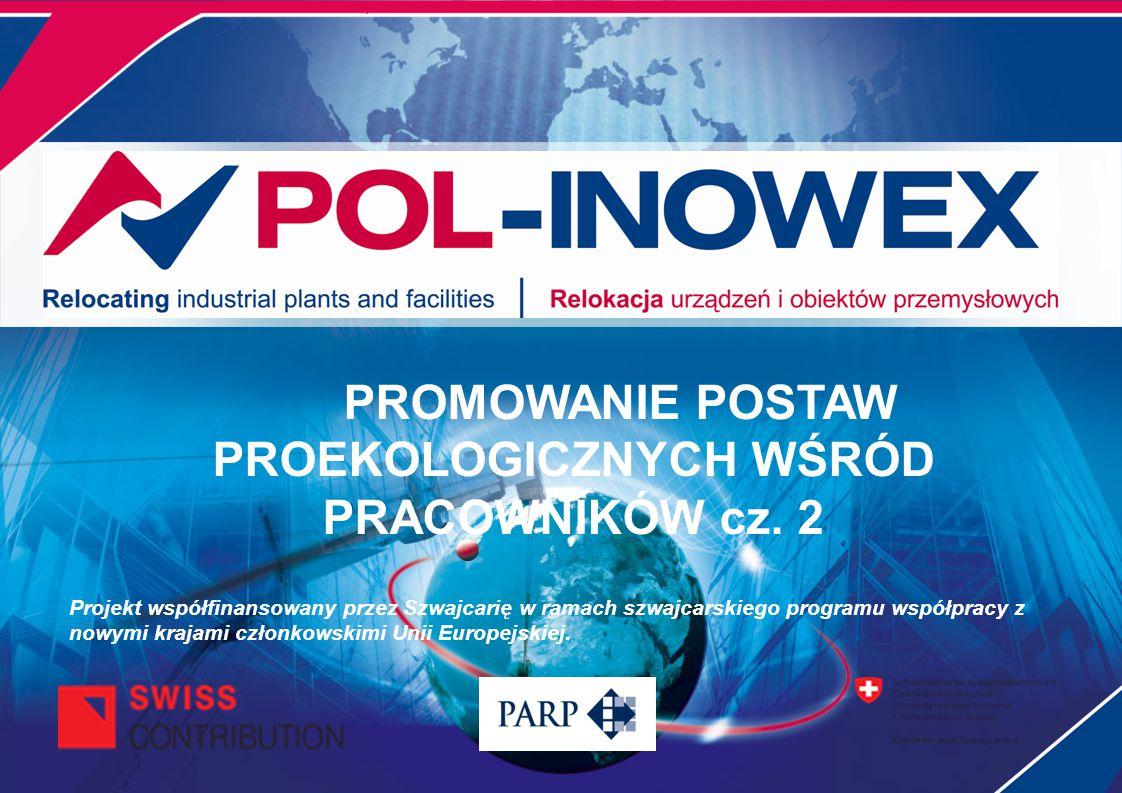 PROMOWANIE POSTAW PROEKOLOGICZNYCH WŚRÓD PRACOWNIKÓW cz. 2