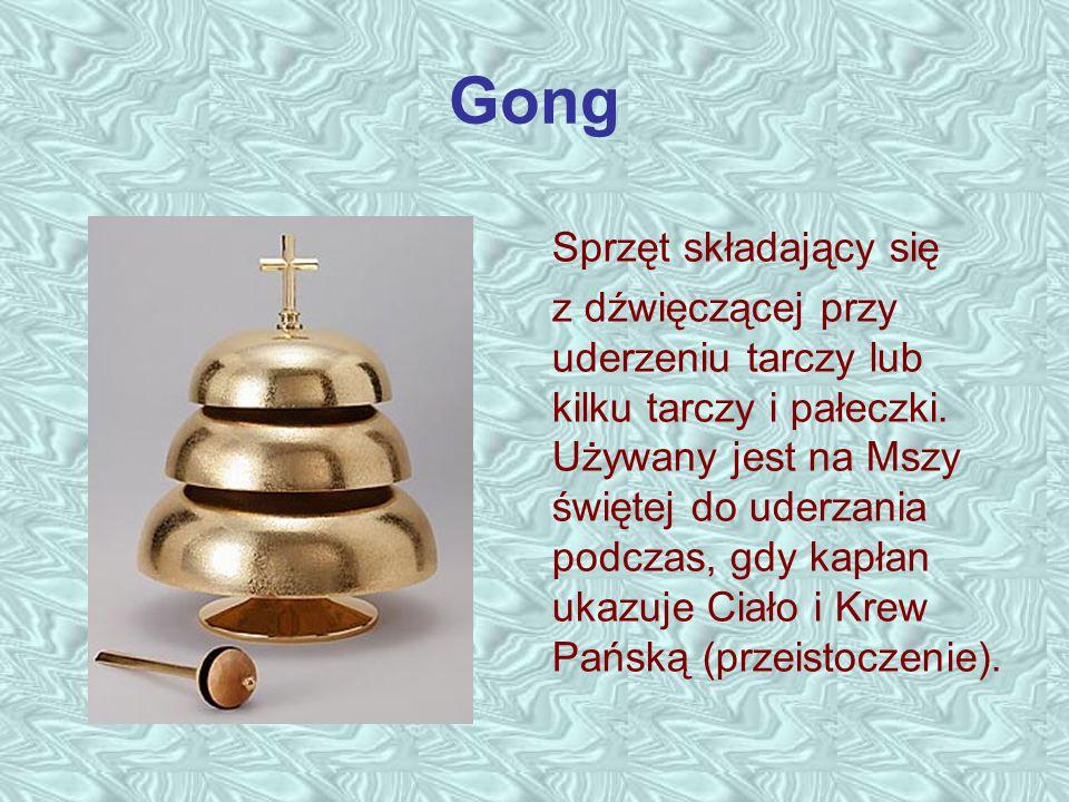 Gong Sprzęt składający się