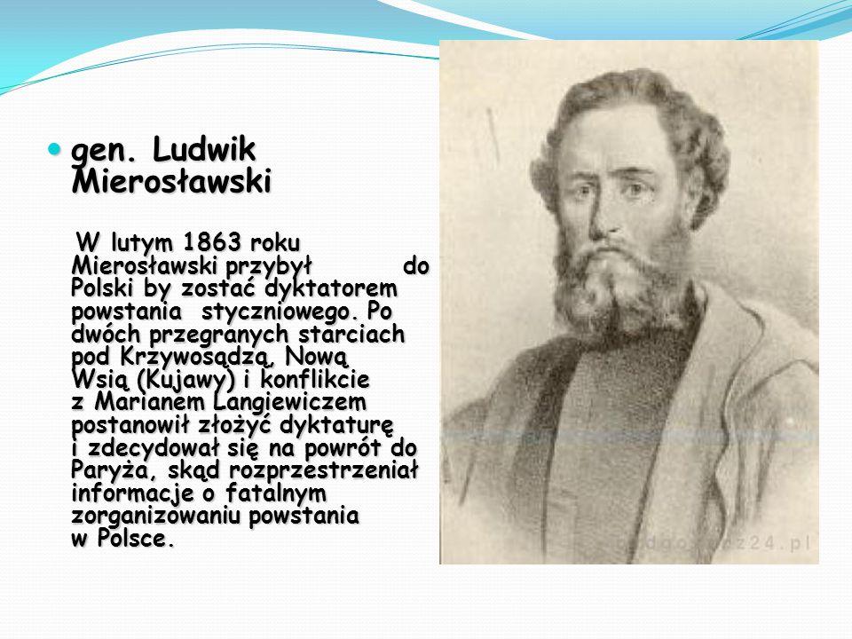 gen. Ludwik Mierosławski