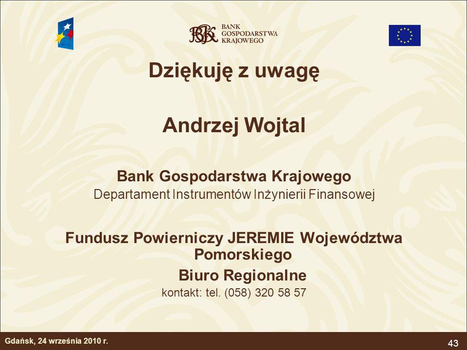 Dziękuję z uwagę Andrzej Wojtal