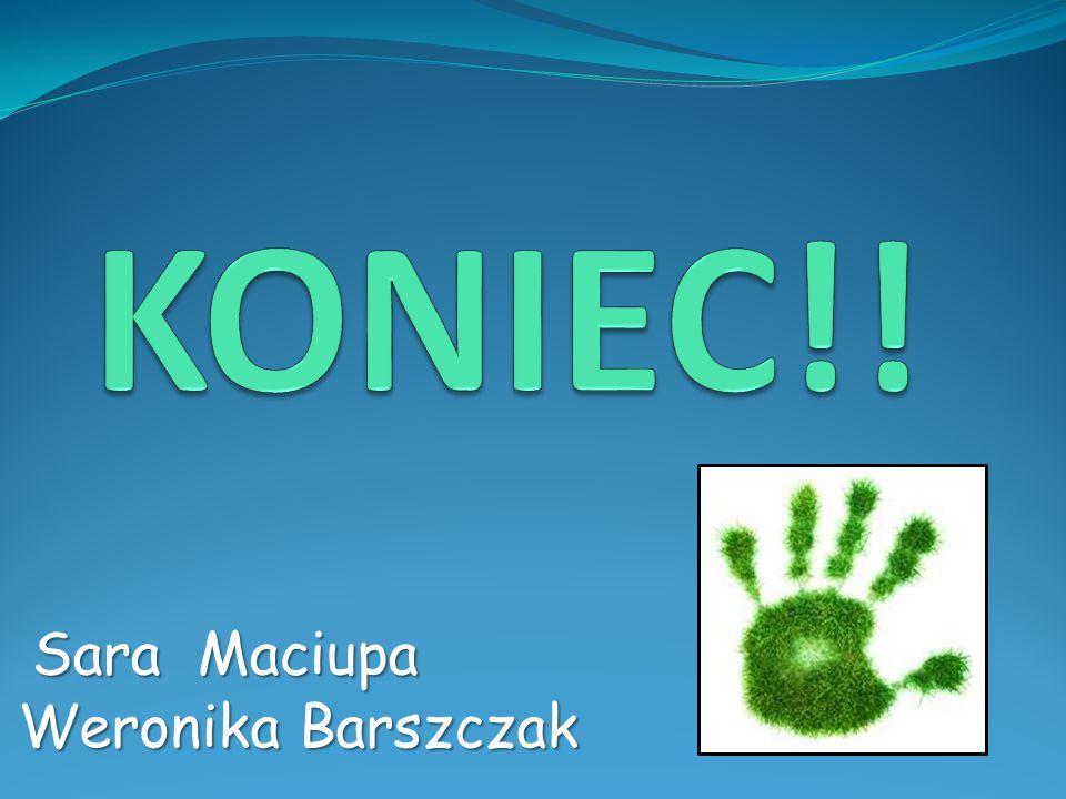 KONIEC!! Sara Maciupa Weronika Barszczak