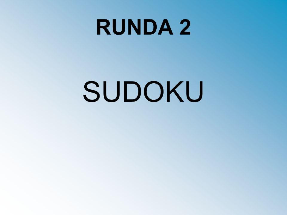 RUNDA 2 SUDOKU