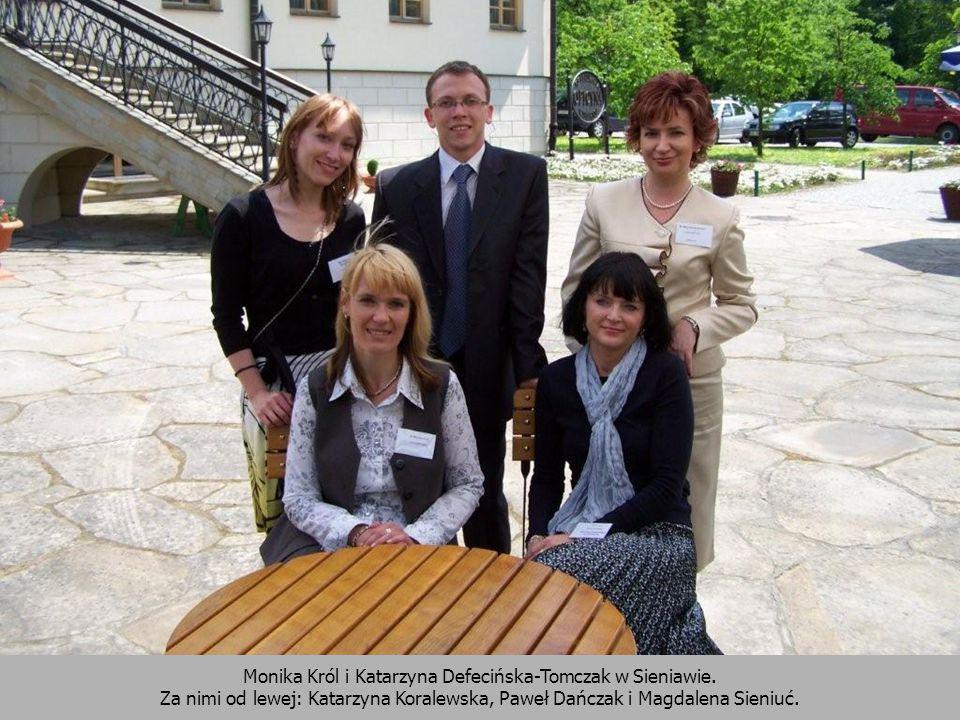 Monika Król i Katarzyna Defecińska-Tomczak w Sieniawie.