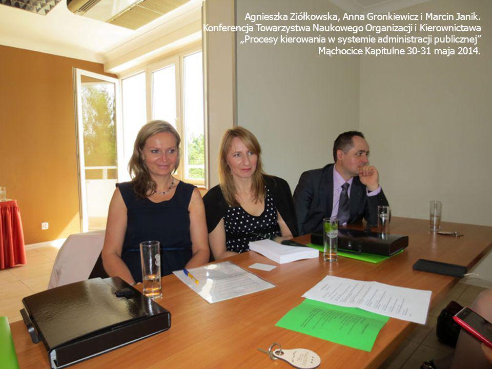 Agnieszka Ziółkowska, Anna Gronkiewicz i Marcin Janik.