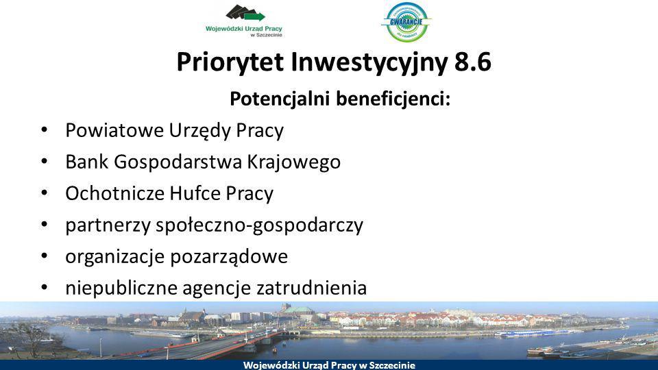 Priorytet Inwestycyjny 8.6