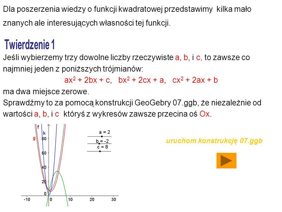 ax2 + 2bx + c, bx2 + 2cx + a, cx2 + 2ax + b