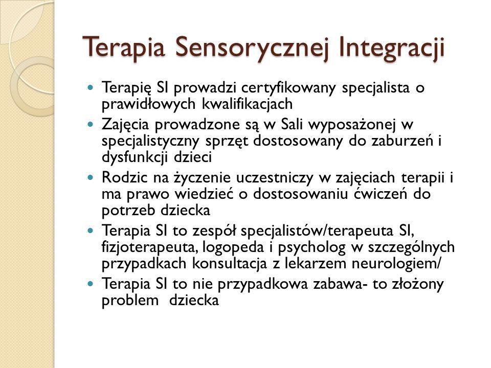 Terapia Sensorycznej Integracji