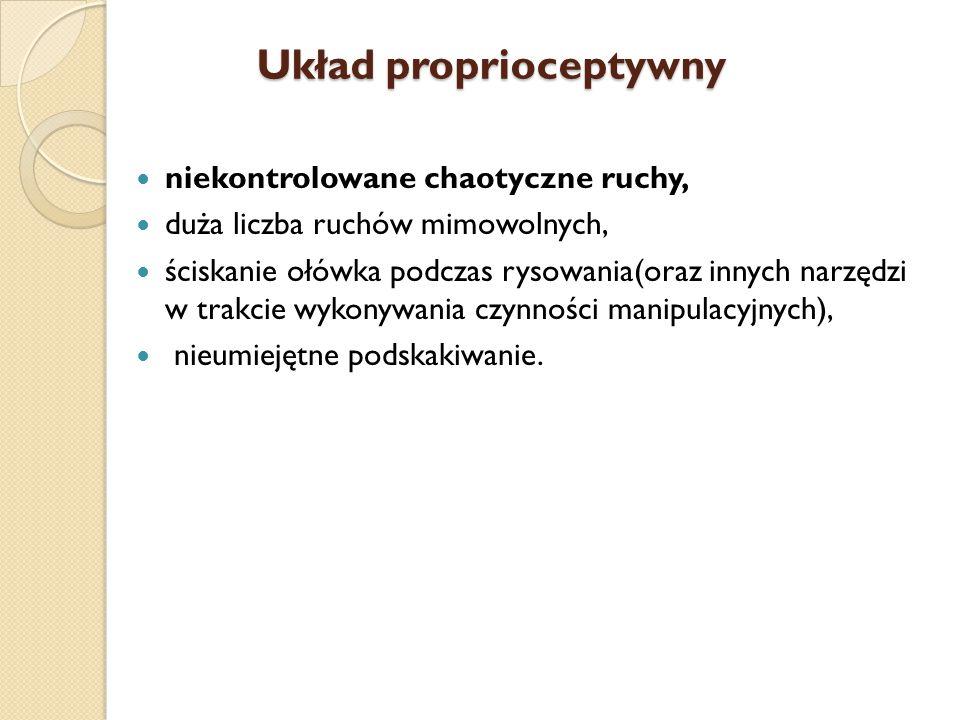 Układ proprioceptywny