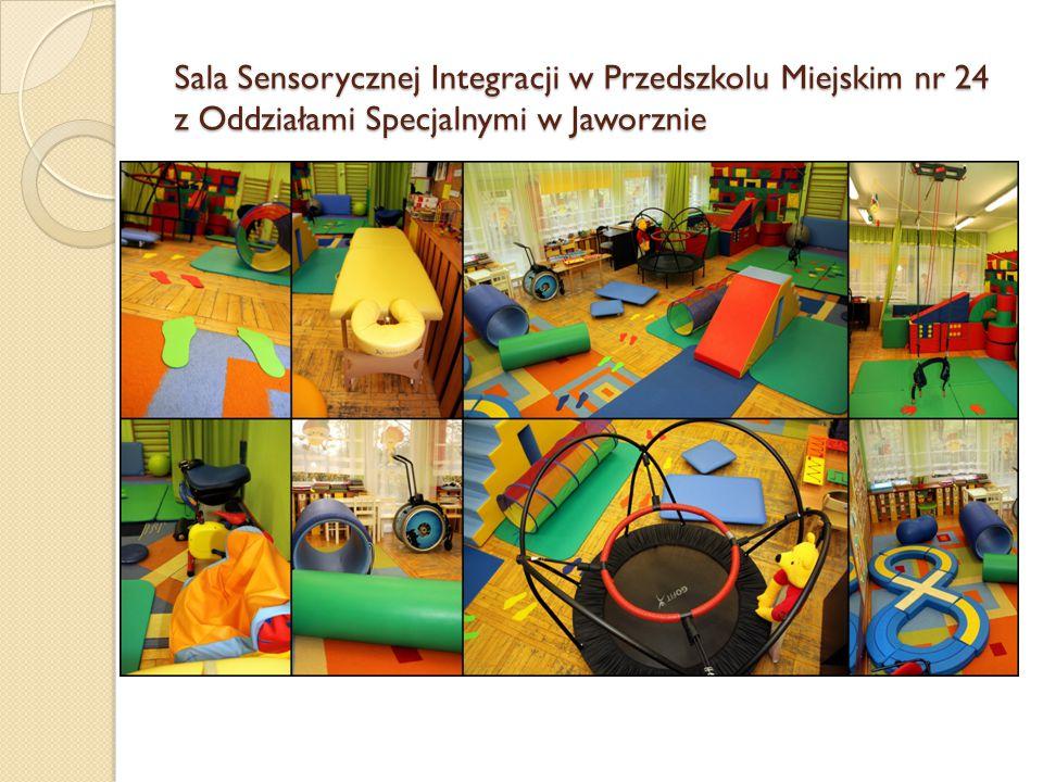 Sala Sensorycznej Integracji w Przedszkolu Miejskim nr 24 z Oddziałami Specjalnymi w Jaworznie