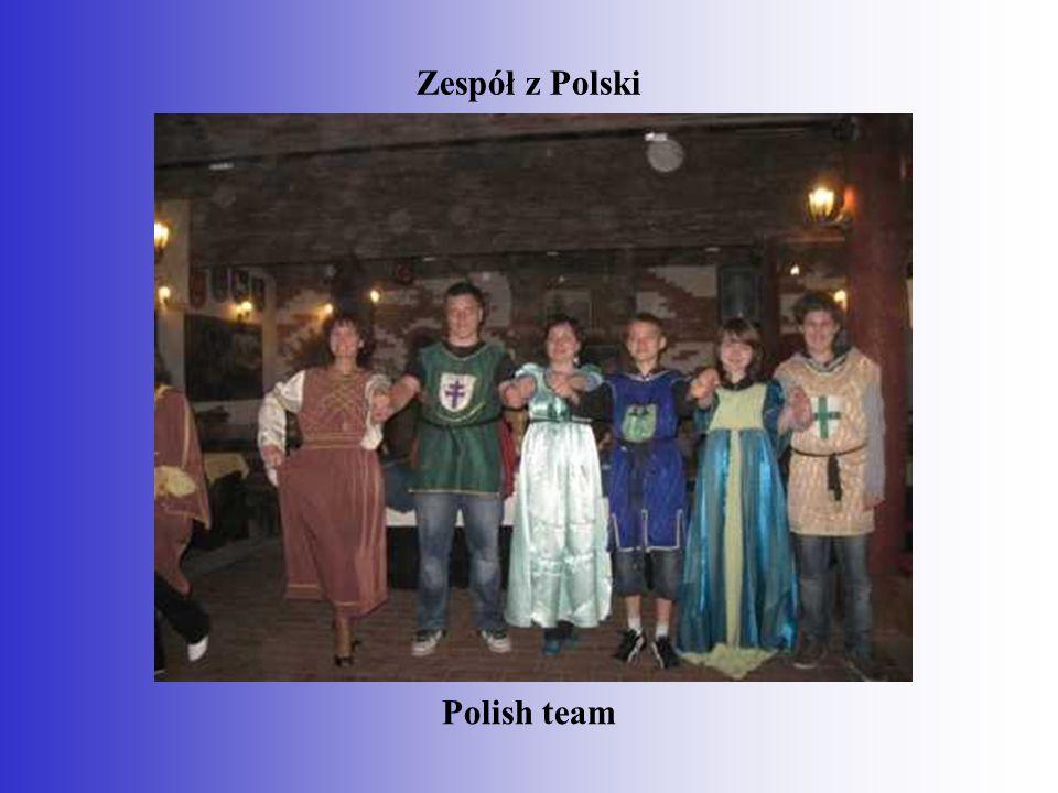 Zespół z Polski Polish team