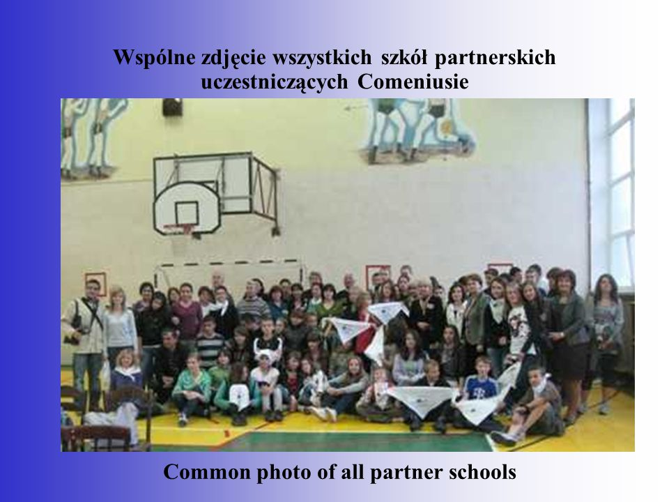 Common photo of all partner schools